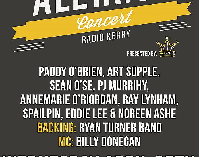 The All Irish Music Concert presented by Radio Kerry