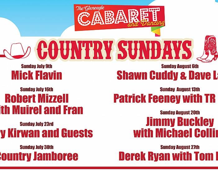 Country Sunday with Jimmy Buckley - 20th August 2017