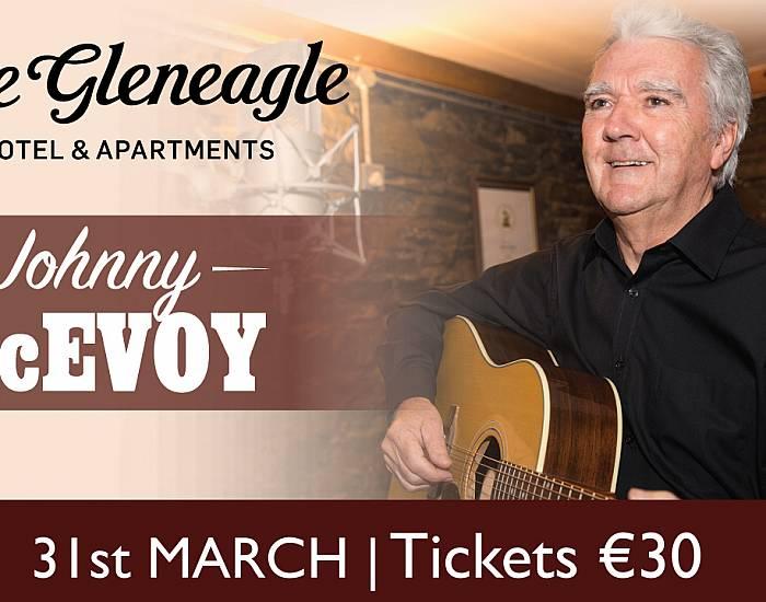 Johnny McEvoy at The Gleneagle Hotel Ballroom