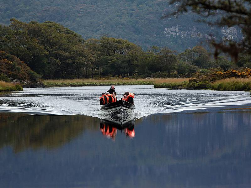 Killarney: The Gap of Dunloe Boat Trip. Photo by Valerie O' Sullivan