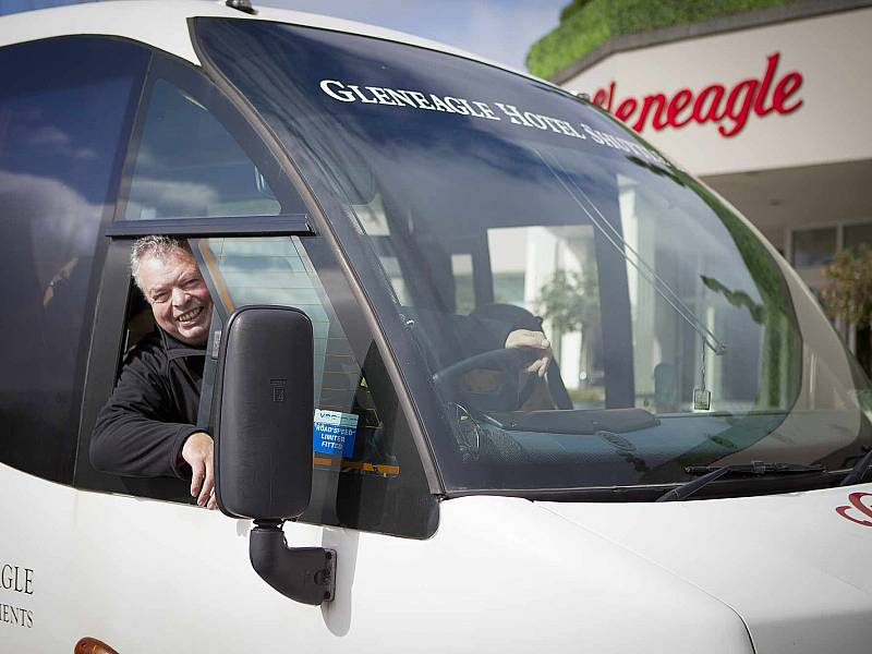 The Complex: The Gleneagle Hotel Accessible Shuttle Bus
