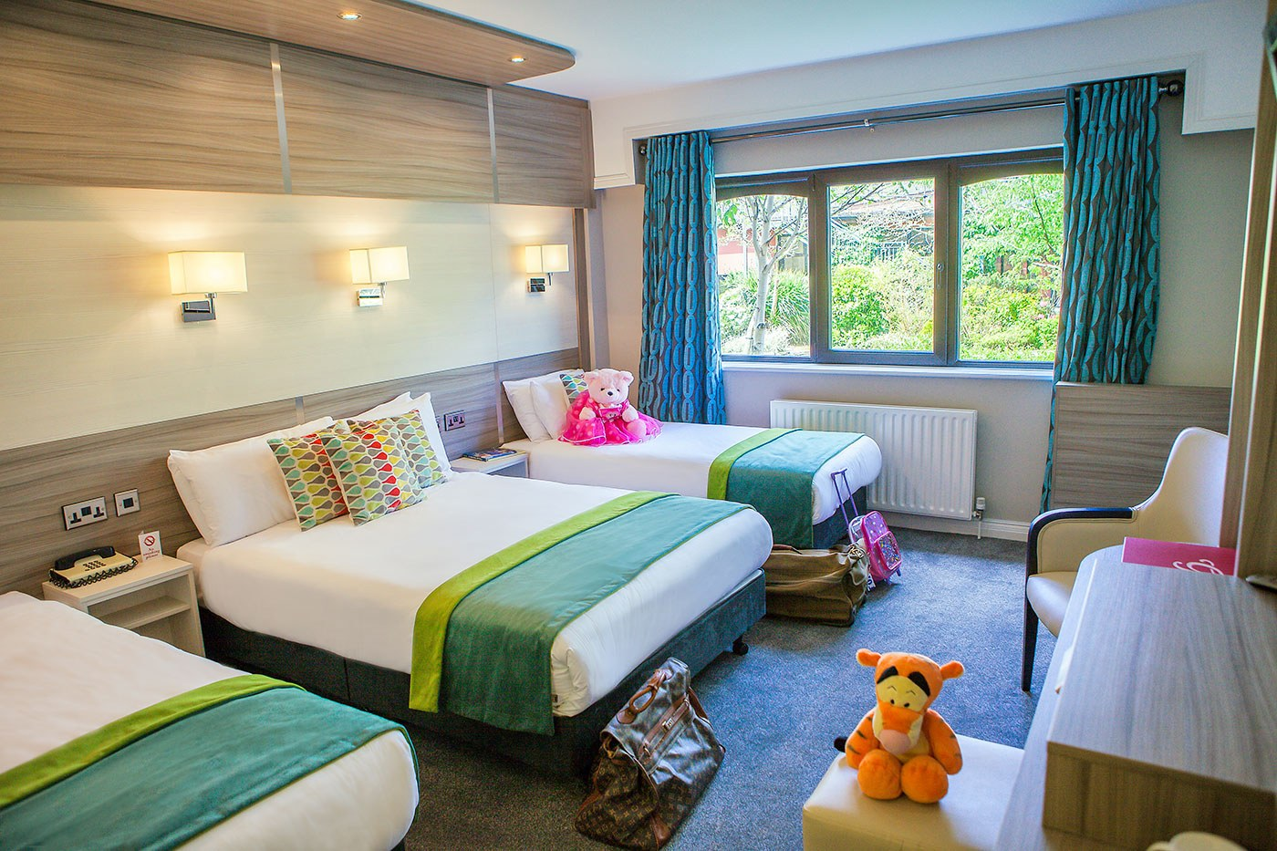 Accommodation in killarney the gleneagle hotel and for What is the family room