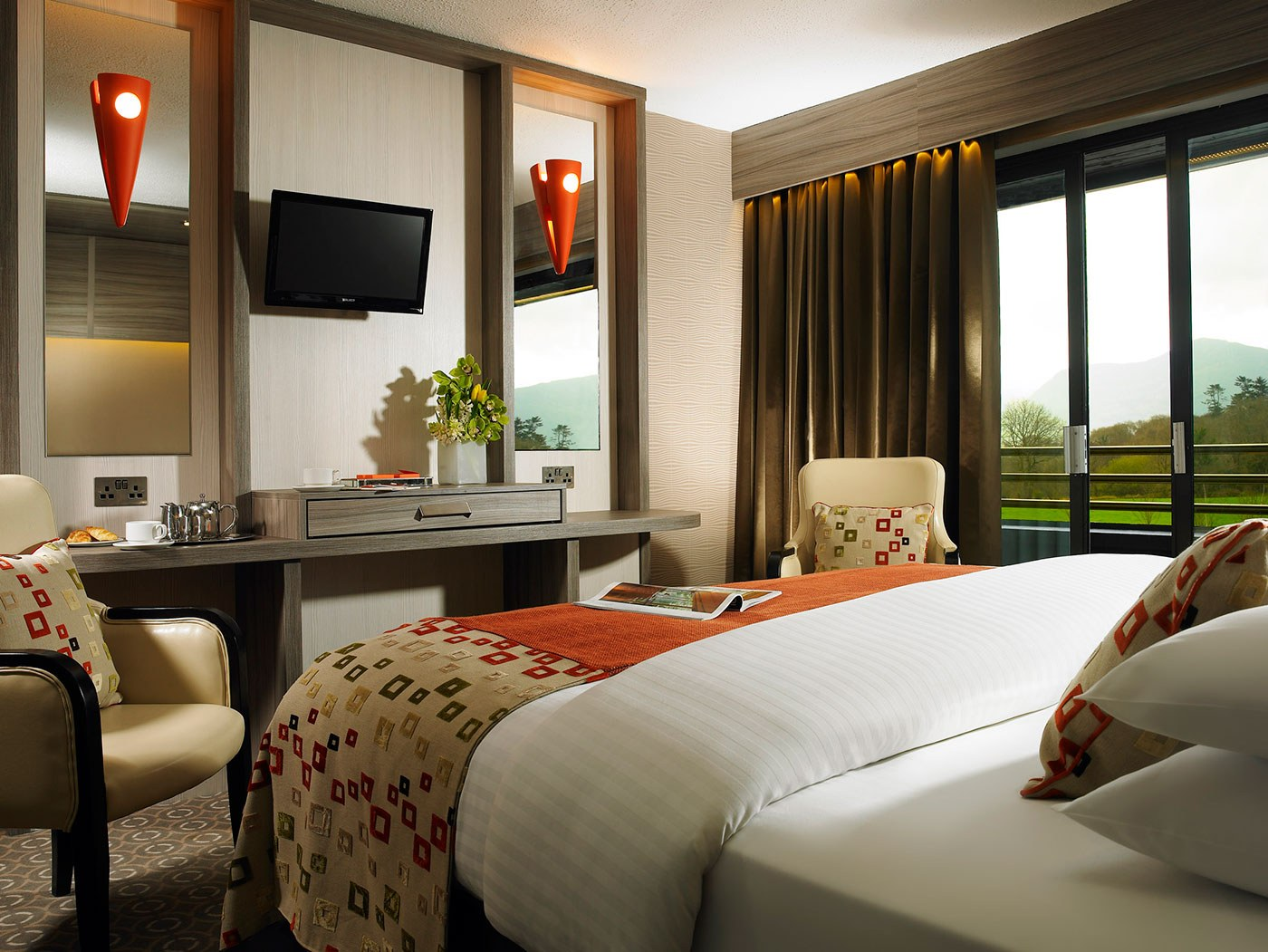 Accommodation in killarney the gleneagle hotel and for Room with balcony