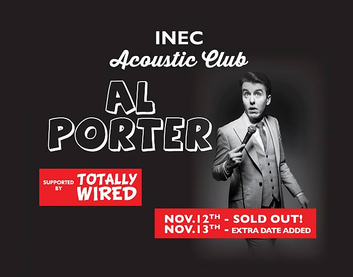 Al Porter - Extra date added due to popular demand!