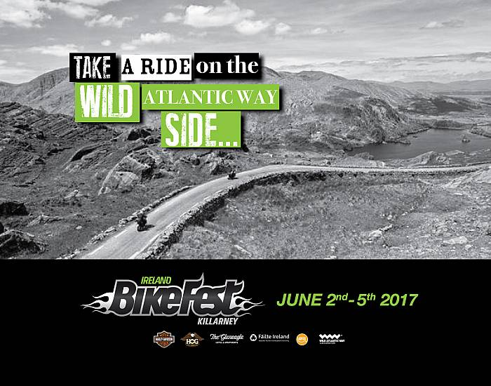 Ireland Bikefest - 2nd till 5th June 2017