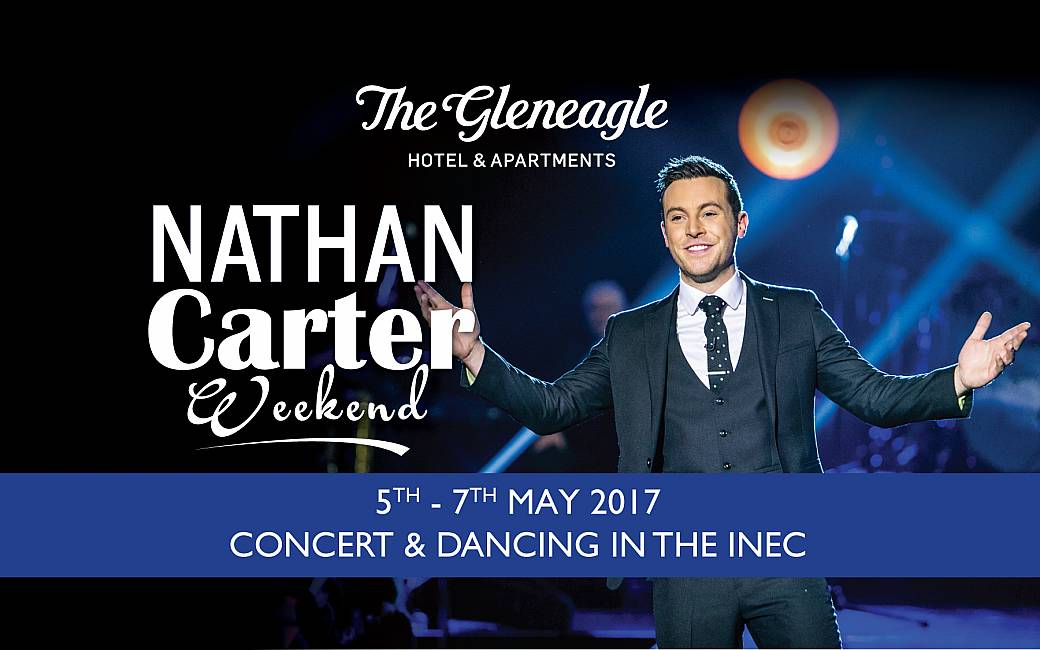 Nathan Carter Weekend - 05th to 07th of May 2017 - Book Now