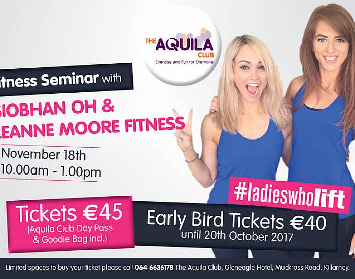 Seminar with Siobhan OH & Leanne Moore Fitness