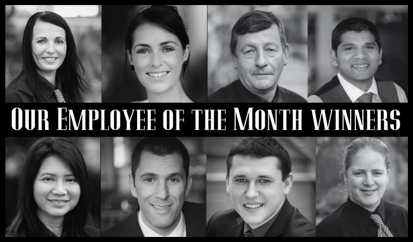 Employee of the Month Winners