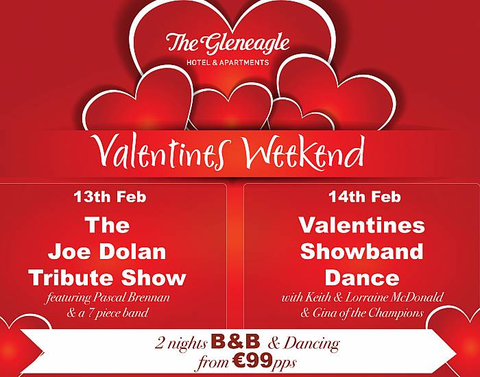 Valentines Weekend at The Gleneagle Hotel