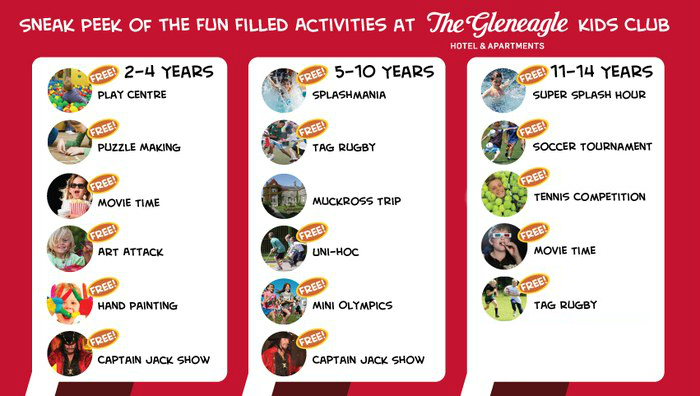 Fun Filled Activities at the Kids Club